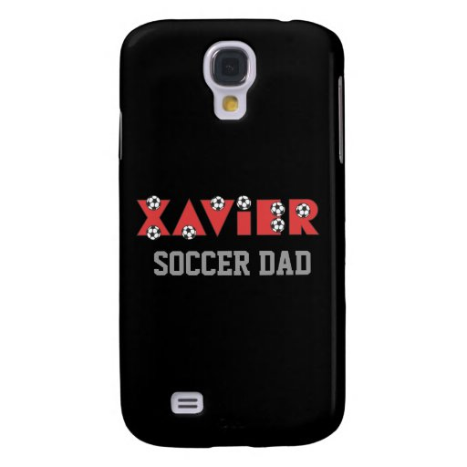 Xavier in Soccer Red Samsung Galaxy S4 Cover