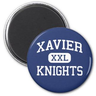 Xavier - Knights - High School - New York New York 6 Cm Round Magnet
