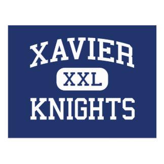 Xavier - Knights - High School - New York New York Postcard