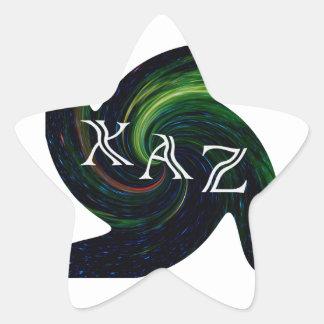 XAZ. STAR STICKER