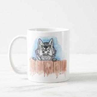 XBox Wolf Basic White Mug