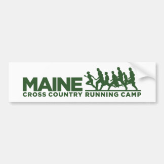 XC Camp Bumper Sticker