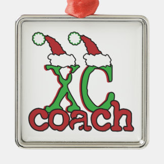 XC Cross Country Coach - Christmas Holiday Christmas Ornament