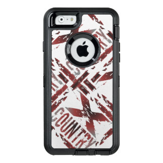 XC Cross Country Runner - Grunge Running OtterBox iPhone 6/6s Case