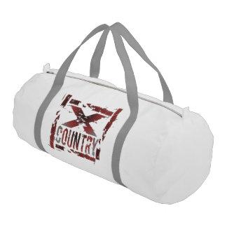XC Cross Country Runner Gym Duffel Bag