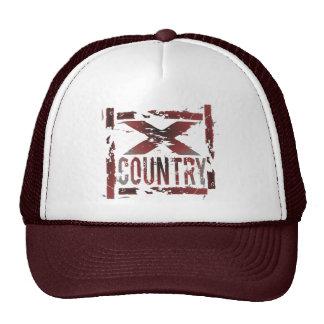 XC Cross Country Runner Mesh Hats