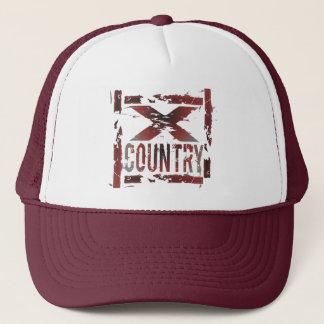 XC Cross Country Runner Trucker Hat