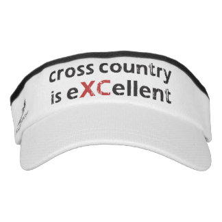 XC Cross Country Running is eXCellent Visor