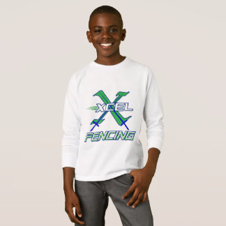 Xcel Fencing Team • Kids Long Sleeve T-Shirt