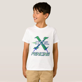 Xcel Fencing Team • Kids T-Shirt