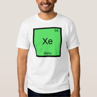 Xe - Xenu Chemistry Element Symbol Periodic Funny Tshirt