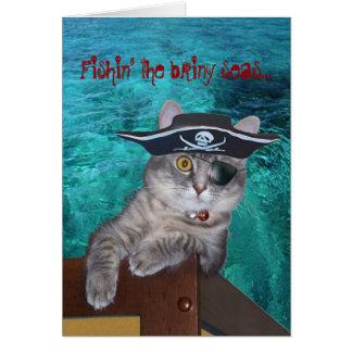Xena as Pirate Card -- customized