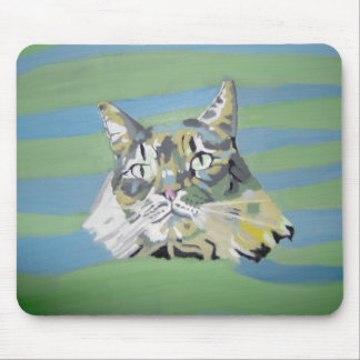 Xena, the Punk Tabby (2006) Mouse Pad
