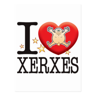 Xerxes Love Man Postcard