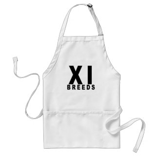 XI Breds Playoffs Shirt T-Shirts.png Apron