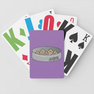 Xiaolongbao Chinese Soup Dumpling Dim Sum Bun Poker Deck