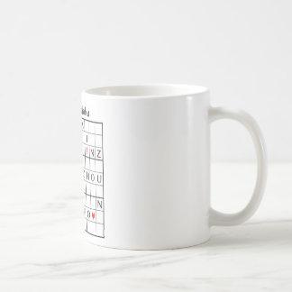 xinzhoudoku basic white mug