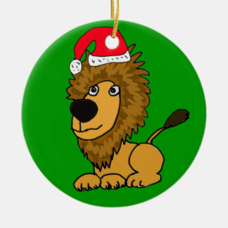 XL- Cute Lion Christmas Ornament