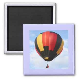 XLTA, Balloon!   Beautiful Flying! Square Magnet