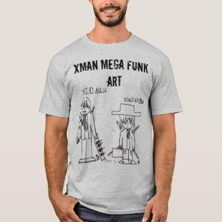 Xman Mega Funk Art T-Shirt