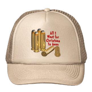 Xmas Ammunition Gun Hat