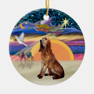 XMas Angel - Bloodhound Christmas Ornament