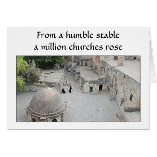 Xmas (Bethlehem) Greeting Card