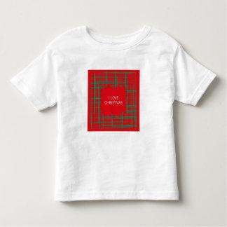 Xmas Brush Checks red Toddler T-shirt