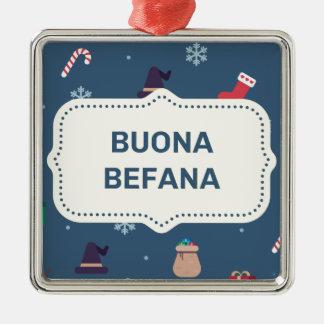 xmas buona Befana Christmas Ornament