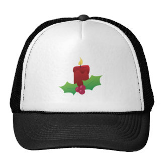Xmas Candle Trucker Hat