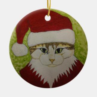 XMAS CAT 1 CHRISTMAS ORNAMENT