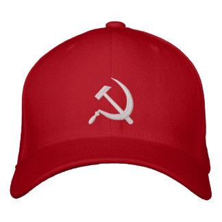 Xmas CCCP Серп и Молот Sickle & Hammer ロシア Embroidered Hat