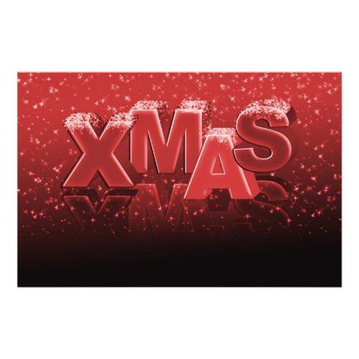 Xmas Christmas Photographic Print