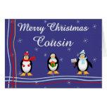 Xmas Cousin Greeting Cards
