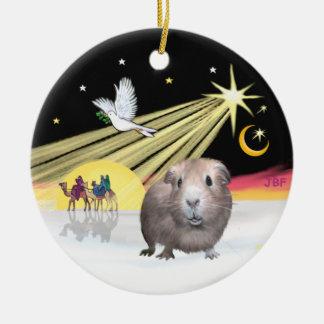 Xmas Dove - Guinea Pig #2 Christmas Ornament