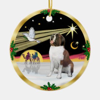 Xmas Dove - Saint Bernard Christmas Ornament