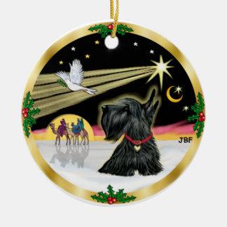 Xmas Dove - Scottish Terrier Christmas Ornament