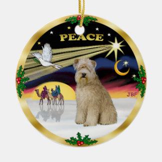Xmas Dove - Wheaten Terrier Christmas Ornament