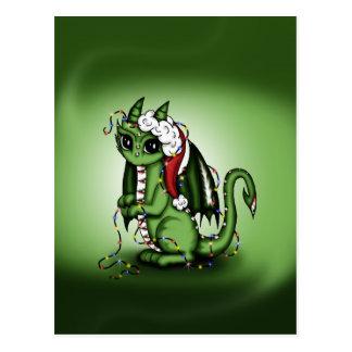 Xmas Dragon Postcard