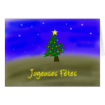 Xmas Evergreen - french Cards