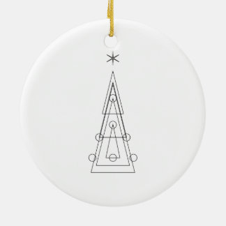 XMAS | geometric christmas tree Christmas Ornament