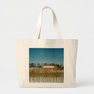 Xmas in New England Jumbo Tote Bag