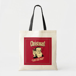 Xmas: I've Got Your Holiday Spirit Right Here Budget Tote Bag