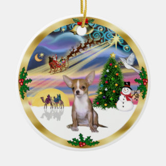 Xmas Magic - Chihuahua1 Christmas Ornament
