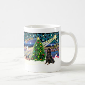Xmas Magic-Gordon Setter Coffee Mug