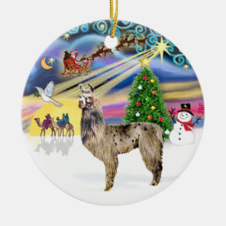 Xmas Magic - Llama 2 Christmas Ornament