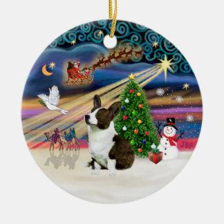Xmas Magic - Welsh Corgi (Cardigan) Christmas Ornament