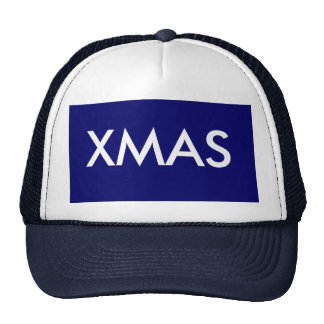 XMAS MESH HATS