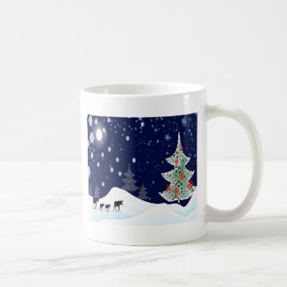 Xmas Moose Coffee Mug