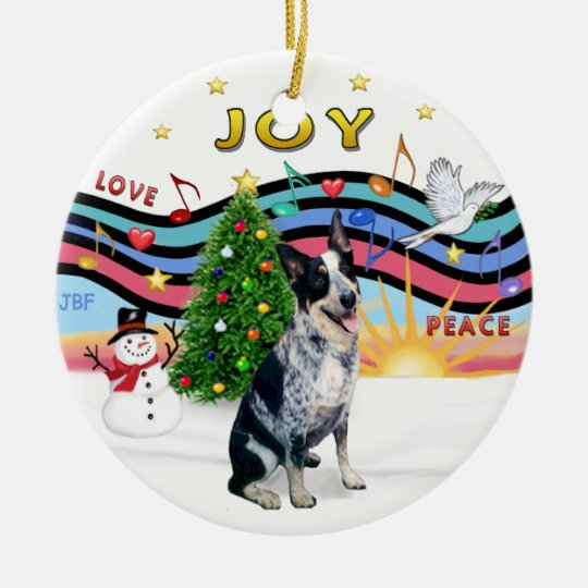 Xmas Music 1 - Australian Cattle Dog Christmas